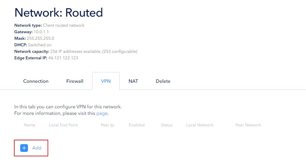 How to create a VPN tunnel