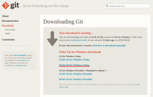 How To Install Git On Windows Serverspace