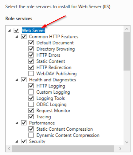 Select additional components