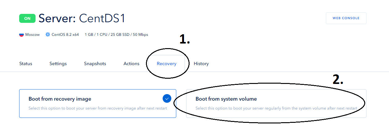 Screenshot 10: how to recovery root password